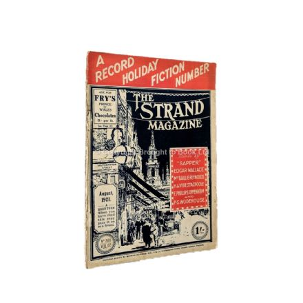 The Strand Magazine 368 August 1921 Sapper Edgar Wallace E. Phillips Oppenheim W. Heath Robinson P.G